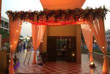 Behind the scenes. / The Sutra Weddings Team hard at work!