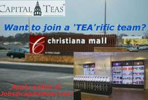 Our Awesome Stores are Hiring /  The mission of Capital Teas is to educate people and inspire lives through the wonders of tea, one cup at a time.