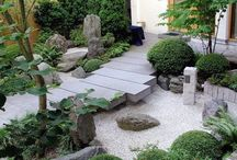 Japanese gardens / My favourite style in gardens, beautiful, peaceful,harmonious...