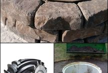 Upcycled fire pit ideas