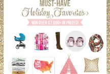 Must-Have Holiday Favorites GIVEAWAY {Tori Spelling}