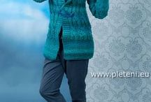 vzory na ruční pletení