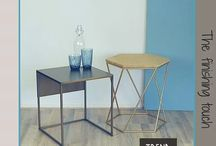 Nº 22 tafeltjes van Trend100.nl / Bijzettafeltjes van Trend100.nl zijn van hoge kwaliteit en duurzaam geproduceerd in Nederland. De tafeltjes kunnen in allerlei kleuren en samenstellingen.