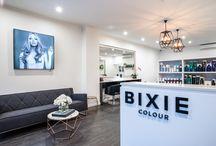 Bixie salon interior
