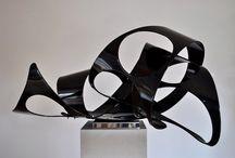 Richard Thornton sculpture at Tarpey Gallery / sculptural work by Richard Thornton