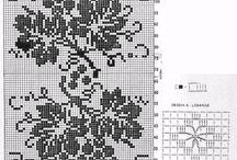 Βελονάκι: κουρτίνες crocheted curtains