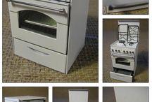 Dollhouse Miniatures - Appliances