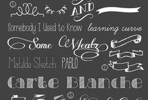 Chalkboard 'n' doodling
