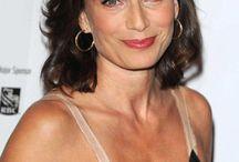 """Kristin Scott Thomas """" Actrice """" / Actrice britanique née en 1960 à Redruth. De nombreux films dans sa carrière comme Avant l'hiver, Les heures sombres, Aux yeux du monde."""