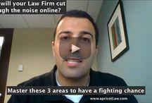 apricotLaw Talks SEO for Lawyers / Custom YouTube Video Thumbnails