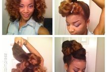 Heat Free Summer / Natural hairstyles perfect for a heat-free summer... Let's see if I can make it happen! / by Karyn Brianne