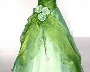 vestidos de fantasía y antiguos