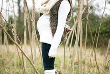 Мода для беременных / Как беременной выглядеть стильно и модно