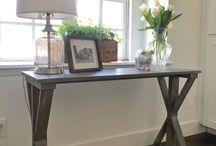table for back entrance