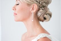 Bridal Hair | Style Tips / Wedding Hairstyles