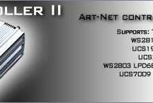ArtNet Controller for LED pixels / ArtNet Controllers for LED pixels. Controlled LED pixel nodes by ethernet directly from your software compatible output Art-Net II. ArtNet LED controllers. Art-Net LED controllers