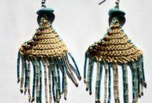Bijoux au crochet fait main