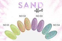 Sand Effect NeoNail - nowy pyłek do efektu cukrowej posypki