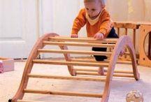 Playground or indoor motor development