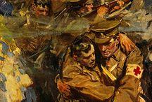 World War 1 art / Painting and sculpture's from the war.