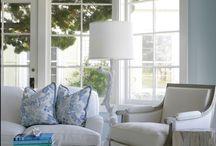 Hampton style lounge ideas