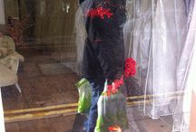 Window Displays Victoria Rogerson Wedding Dress Outlet / Bespoke dresses - Window displays....