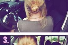 Egyszeru de szep frizura keszitese
