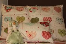 Patchwork / Kissen und Decken