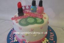 Girly Birthday Cakes