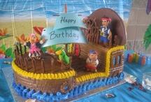 Jakes  and the neverland kids birthday cakes