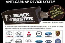 Blackbuster Anti-carnap Device / Your 24/7 protection against carjackers and carnappers. Proudly made in the Philippines.