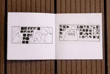 Floriane LBTY / Ce tableau présente l'ensemble de mes productions graphiques. Pour en savoir plus : florianelbty.fr