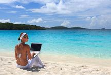 Work style :) / Freedom, lifestyle, online business, work from home, work at the beach. You need just a computer and Internet connection. Get paid instantly! Ask me how!