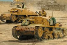 ww2 Italian Tanks