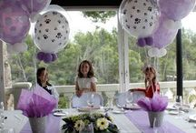 flowers and party design