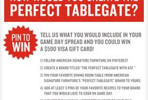 The Perfect Tailgate with ASF / #PerfectTablegate // Ends 9/30 / by Jen K.