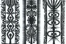 Woodcutting patterns
