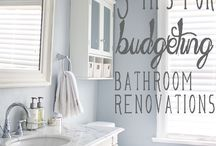bathroom remodel / by NiteDreamerDesigns