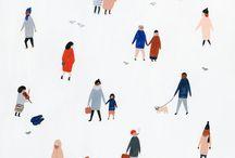 Illustration - Menschen