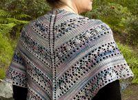 Multi-Colored Yarn Knitting Patterns / Knitting patterns for multi-colored, variegated, self-striping yarn. Many patterns are free