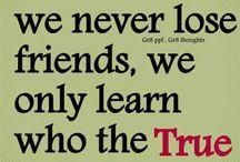 Vriendschap/vertrouwen