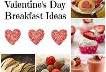 Valentine Recipes / Ideas for valentines treats, valentine dinner ideas, valentine desserts and more!
