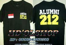 limited edition kaos aksi bela islam 212