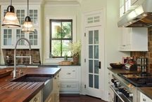 "Kitchens / by Sarah ""Tynie"" Smith"