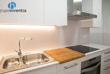 Joan Torras | Reforma integral / En Grupo Inventia rehabilitamos esta vivienda en la calle Joan Torras de Barcelona y este es el resultado.