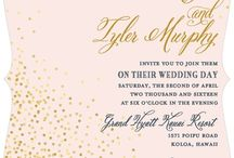 Wedding: Invitations / by Oксана Олександрівна