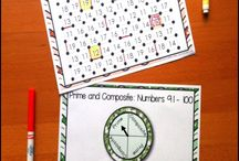 Prime and Composite Numbers / Activities, tools, technology and lessons to reinforce Prime and Composite numbers
