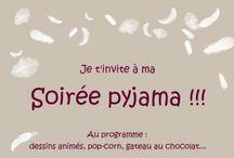 Soirée pyjama !!!