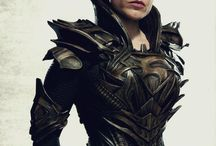 Outfits / Concepts, finished designs/illustrations/fabrications of armour, clothing, costumes and various props worn by a person