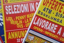 Le riviste e i contenuti... / Le riviste di lavoro e i contenuti: annunci, informazioni e #PosizioniAperte